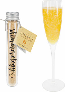 Retirement Mango Swirl Shimmer by Shimmerology - Bubbly Drink Shimmer Powder (15g Tube)