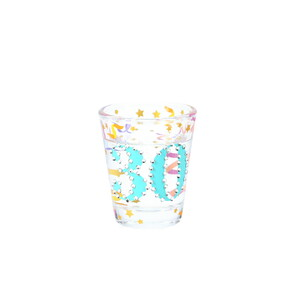30 by Empress - 2 oz Gemstone Shot Glass