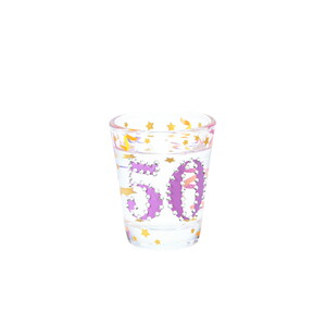 50 by Empress - 2 oz Gemstone Shot Glass