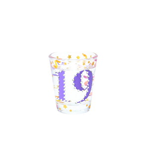 19 by Empress - 2 oz Gemstone Shot Glass