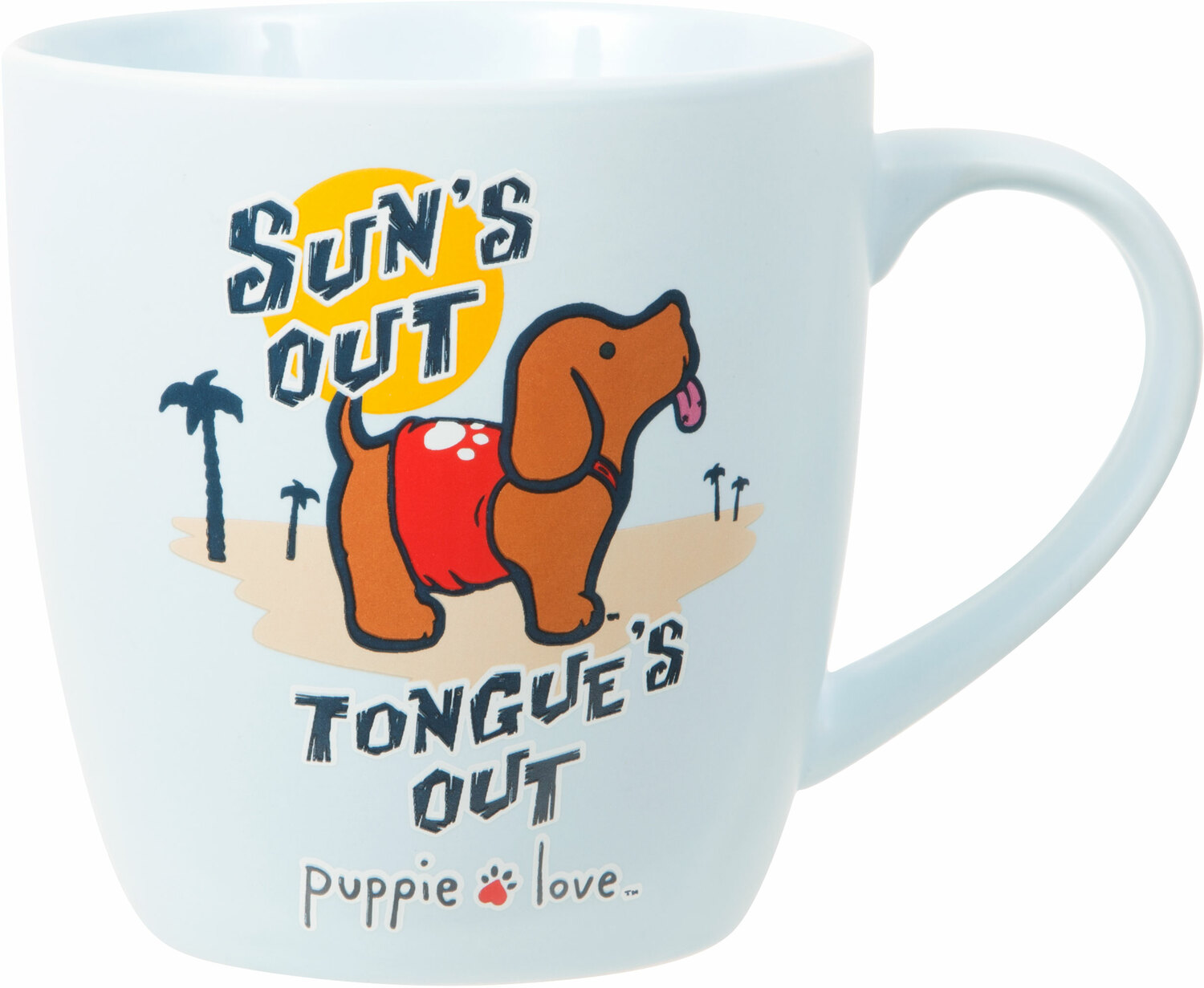 Beach by Puppie Love - Beach - 17 oz Cup