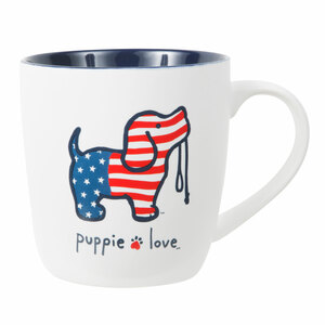 USA by Puppie Love - 17 oz Cup