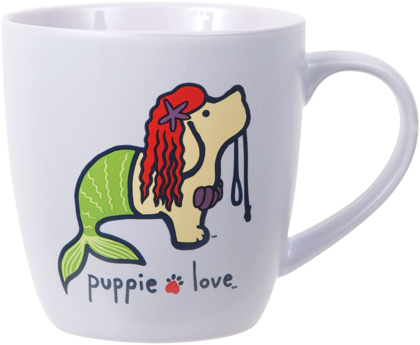 Mermaid by Puppie Love - Mermaid - 17 oz Cup