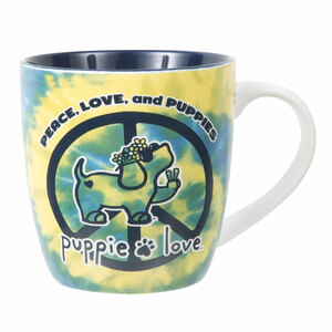 Peace by Puppie Love - 17 oz Cup