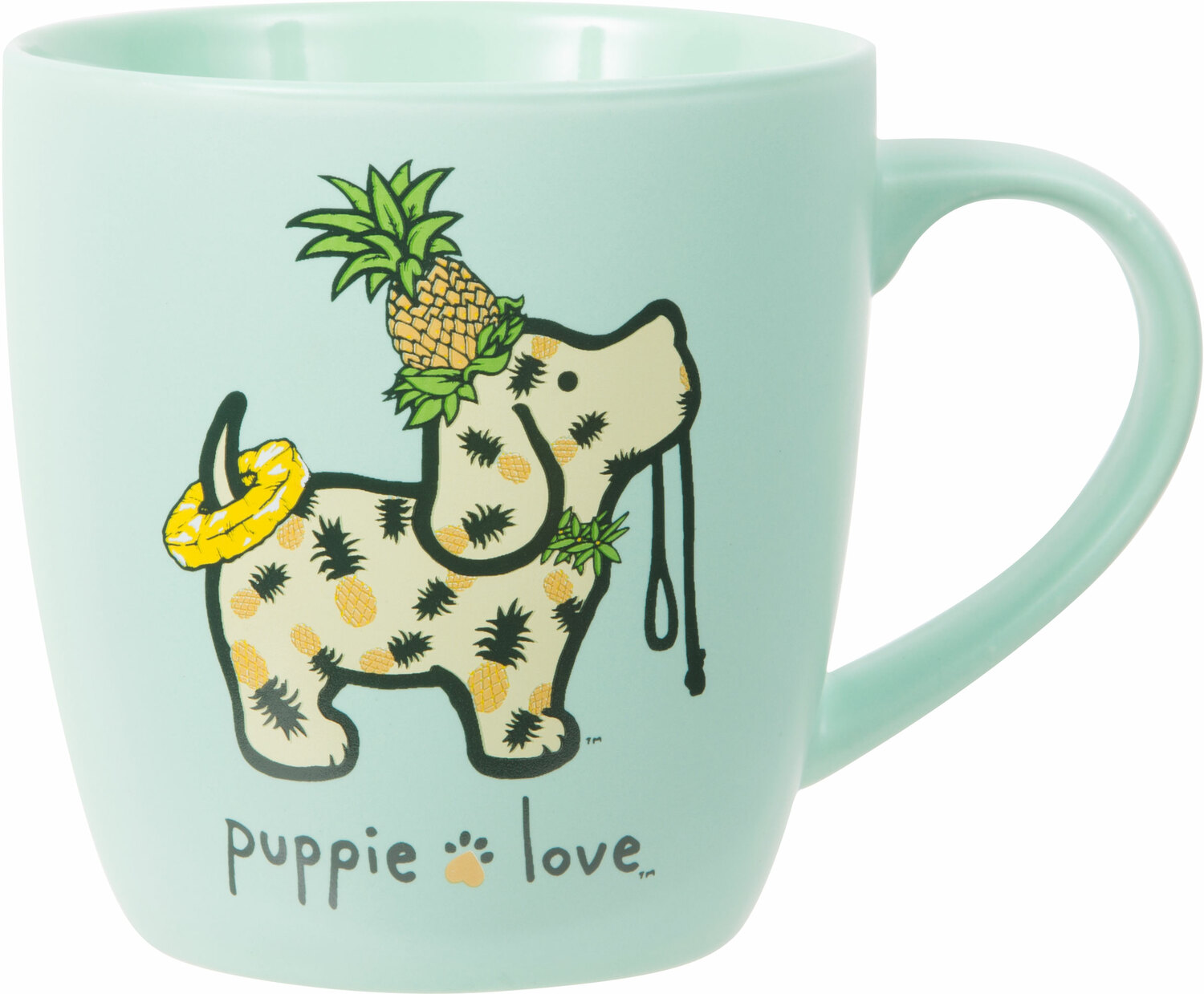Pineapple by Puppie Love - Pineapple - 17 oz Cup