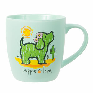 Cactus by Puppie Love - 17 oz Cup