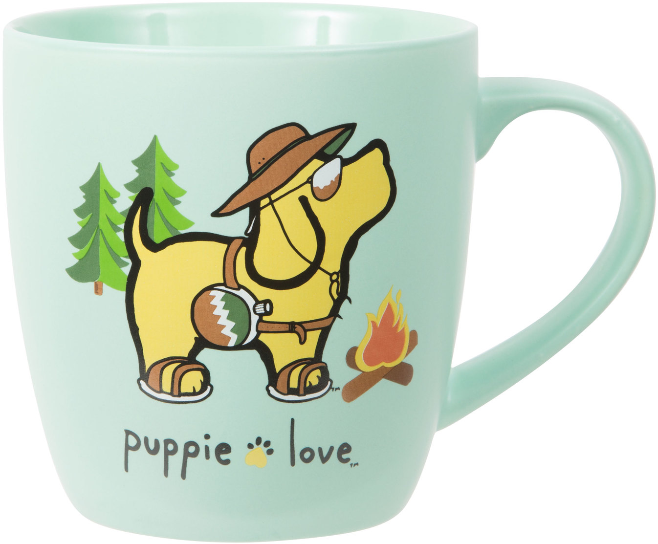 Camping by Puppie Love - Camping - 17 oz Cup