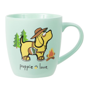 Camping by Puppie Love - 17 oz Cup