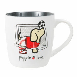 Soccer by Puppie Love - 17 oz Cup