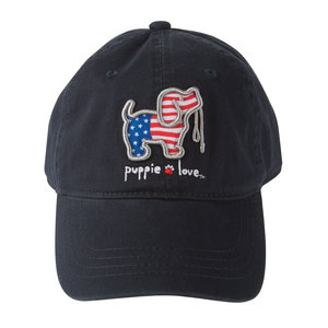 USA by Puppie Love - Navy Adjustable Hat