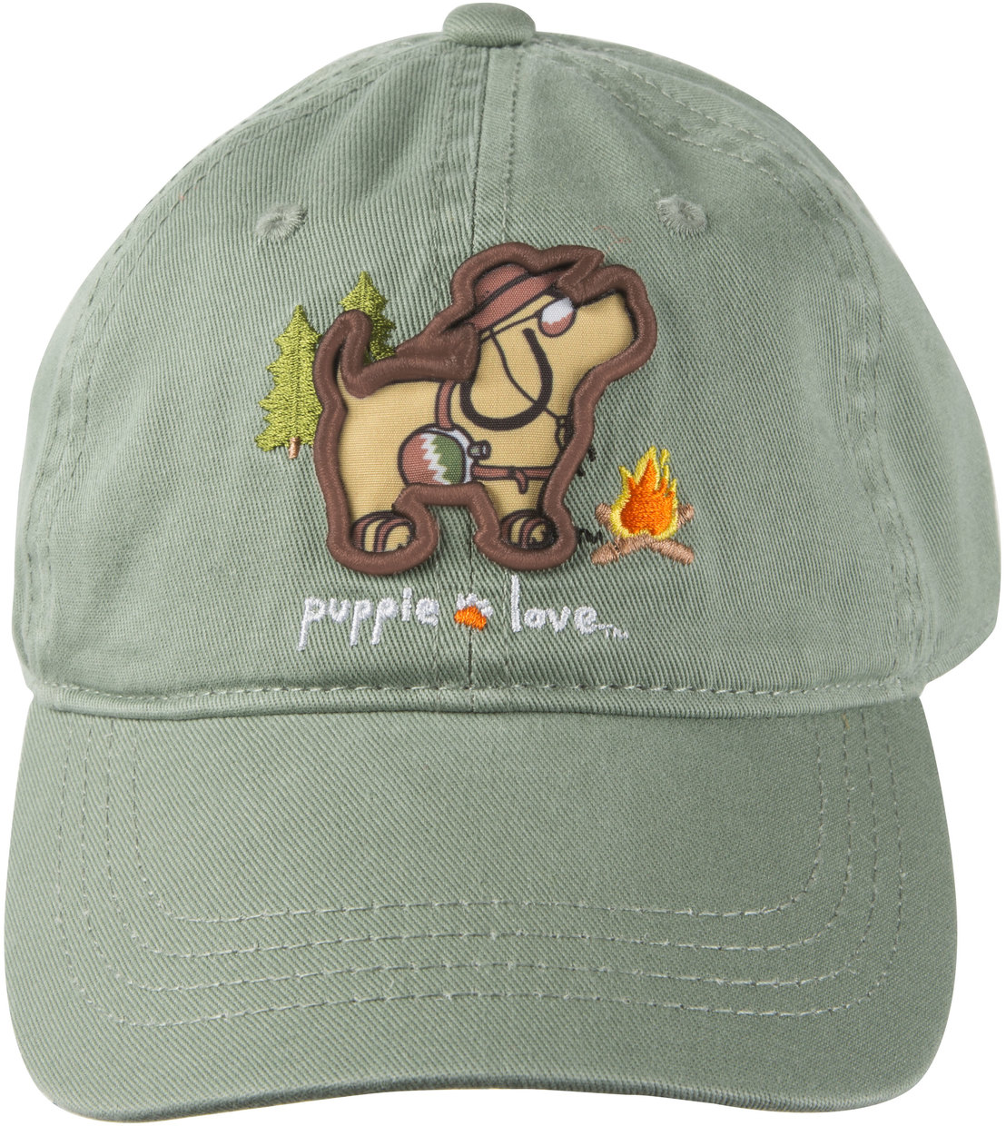 Camping by Puppie Love - Camping - Sage Adjustable Hat