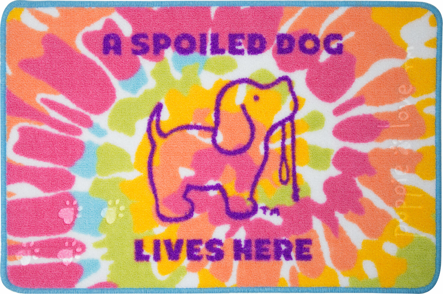 "Spoiled by Puppie Love - Spoiled - 27.5"" x 17.75""   Floor Mat"