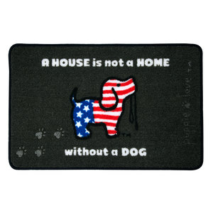 "USA by Puppie Love - 27.5"" x 17.75""   Floor Mat"