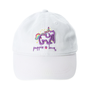 "Unicorn by Puppie Love - 18"" to 19"" Adjustable Baby Hat (0-12 Months)"