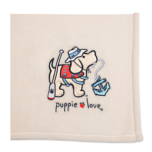 "Lake by Puppie Love - 50"" x 60"" Blanket"