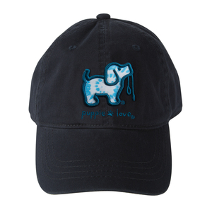 Tie Dye #4 by Puppie Love - Navy Adjustable Hat