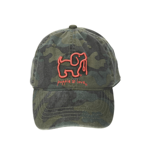 Camo by Puppie Love - Camo Adjustable Hat