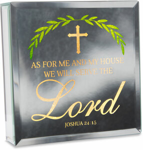 "Lord by Reflections of You - 6"" Lit-Mirrored Plaque"