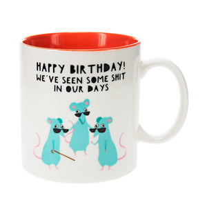 Mice by Fugly Friends - 17 oz Mug