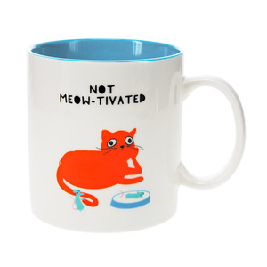 Cat by Fugly Friends - 17 oz Mug