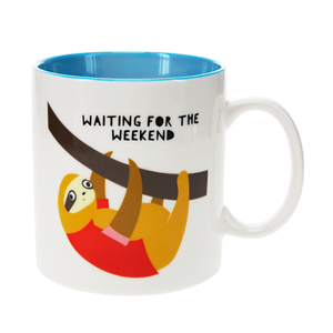 Sloth by Fugly Friends - 17 oz Mug