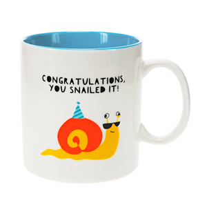 Snail by Fugly Friends - 17 oz Mug