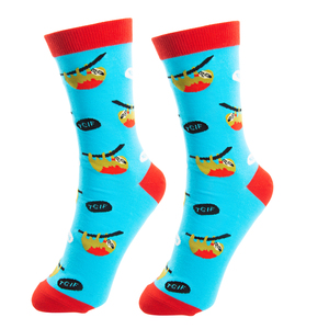TGIF by Fugly Friends - S/M Unisex Cotton Blend Sock