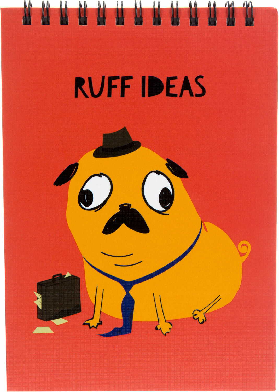 "Ruff Ideas by Fugly Friends - Ruff Ideas - 5"" X 7"" Notepad"
