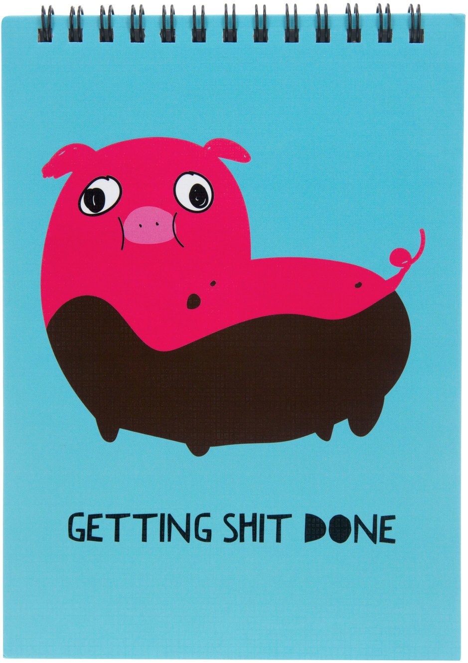 "Shit Done by Fugly Friends - Shit Done - 5"" X 7"" Notepad"