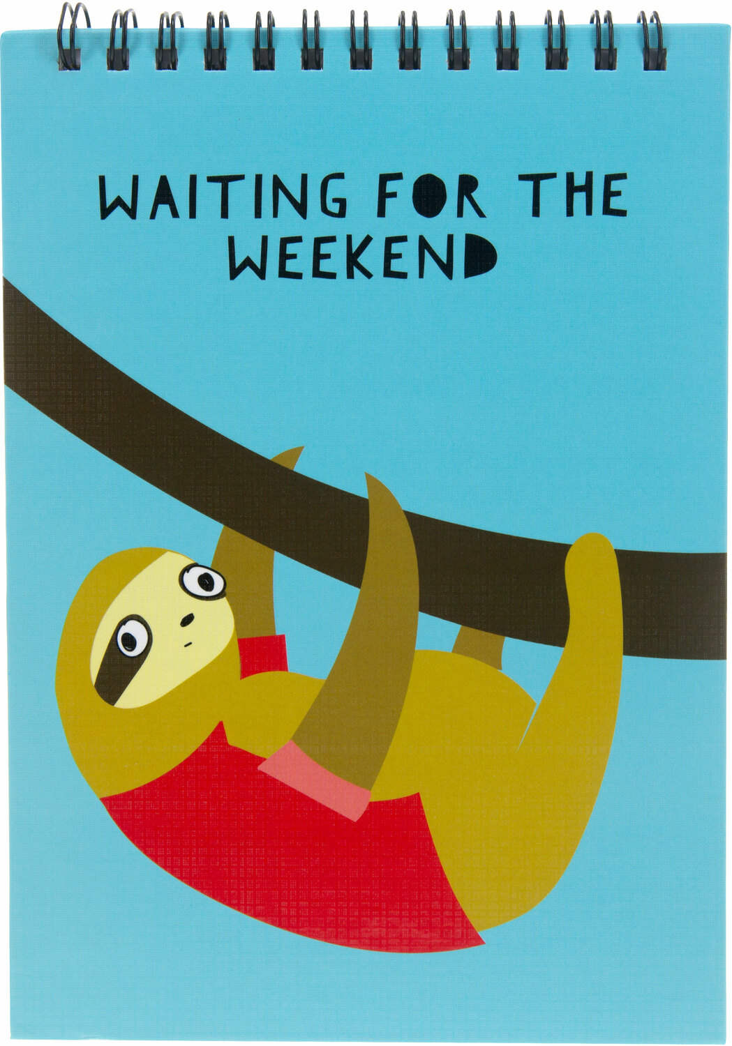 "Weekend by Fugly Friends - Weekend - 5"" X 7"" Notepad"
