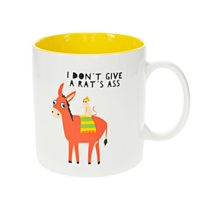 Donkey by Fugly Friends - 17 oz Mug