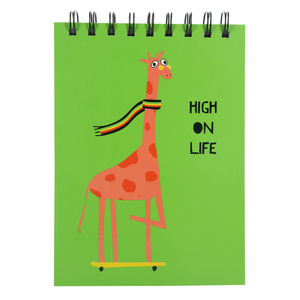 "High On Life by Fugly Friends - 5"" X 7"" Notepad"