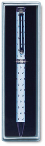 "Blue Dazzle Pen with Gems by Pens with Gems - 5.5"" Pen"