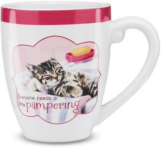 "Pampering by Shaded Pink - 4.75"" Mug"