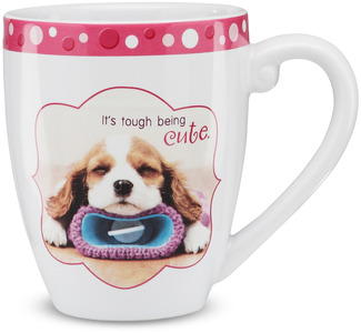 "Cute by Shaded Pink - 4.75"" Mug"