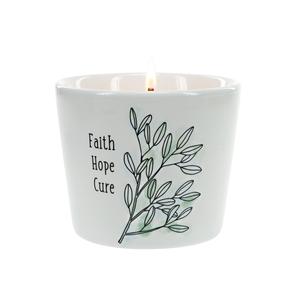 Faith Hope Cure by Faith Hope Healing - 8 oz - 100% Soy Wax Candle Scent: Tranquility
