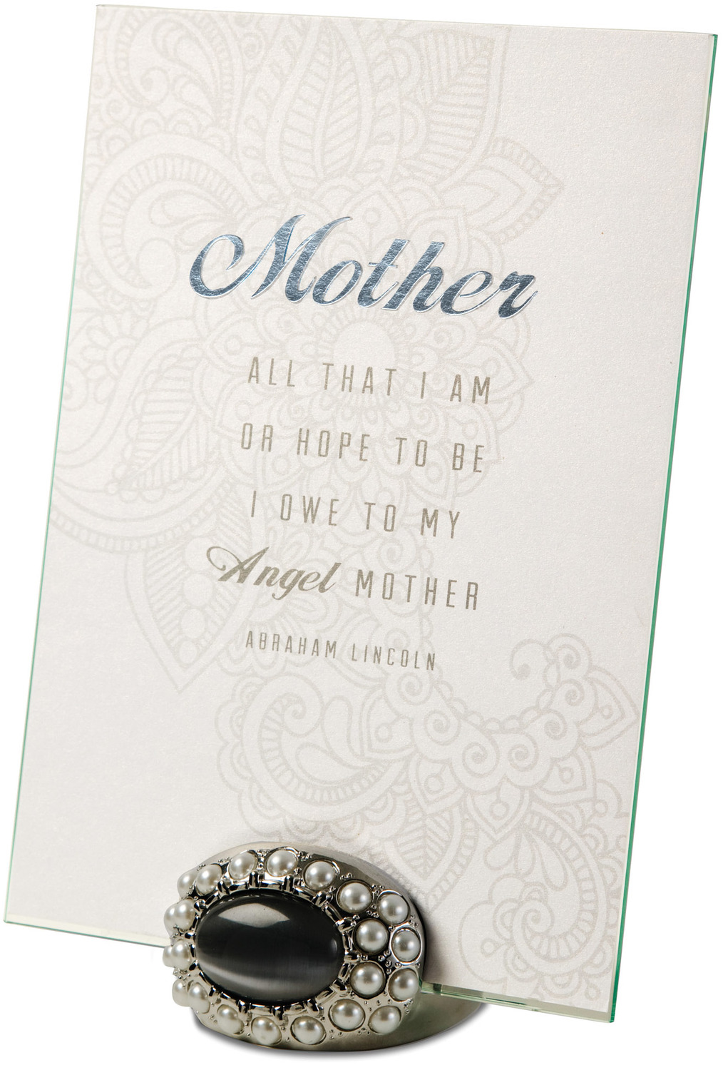 "Mother by Simply Shining - Mother - 5""x7"" Jeweled Photo Frame"