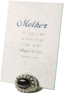 "Mother by Simply Shining - 5""x7"" Jeweled Photo Frame"