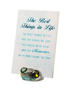 "Best Things by Simply Shining - 4""x6"" Jeweled Photo Frame"
