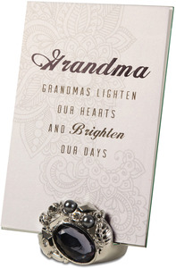 "Grandma by Simply Shining - 4""x6"" Jeweled Photo Frame"