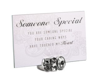 "Someone Special by Simply Shining - 4""x6"" Jeweled Photo Frame"