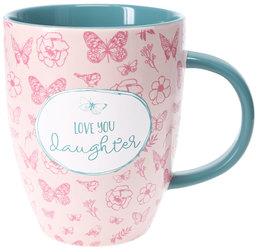 Daughter by Heartful Love - 20 oz. Cup