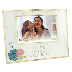"Mom by Heartful Love - 9.25"" x 7.25"" Frame (Holds 6"" x 4"" Photo)"