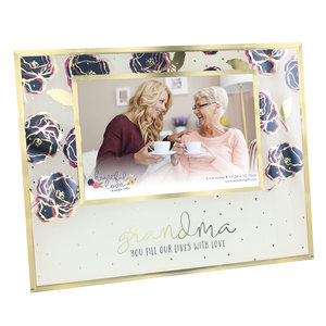 "Grandma by Heartful Love - 9.25"" x 7.25"" Frame (Holds 6"" x 4"" Photo)"