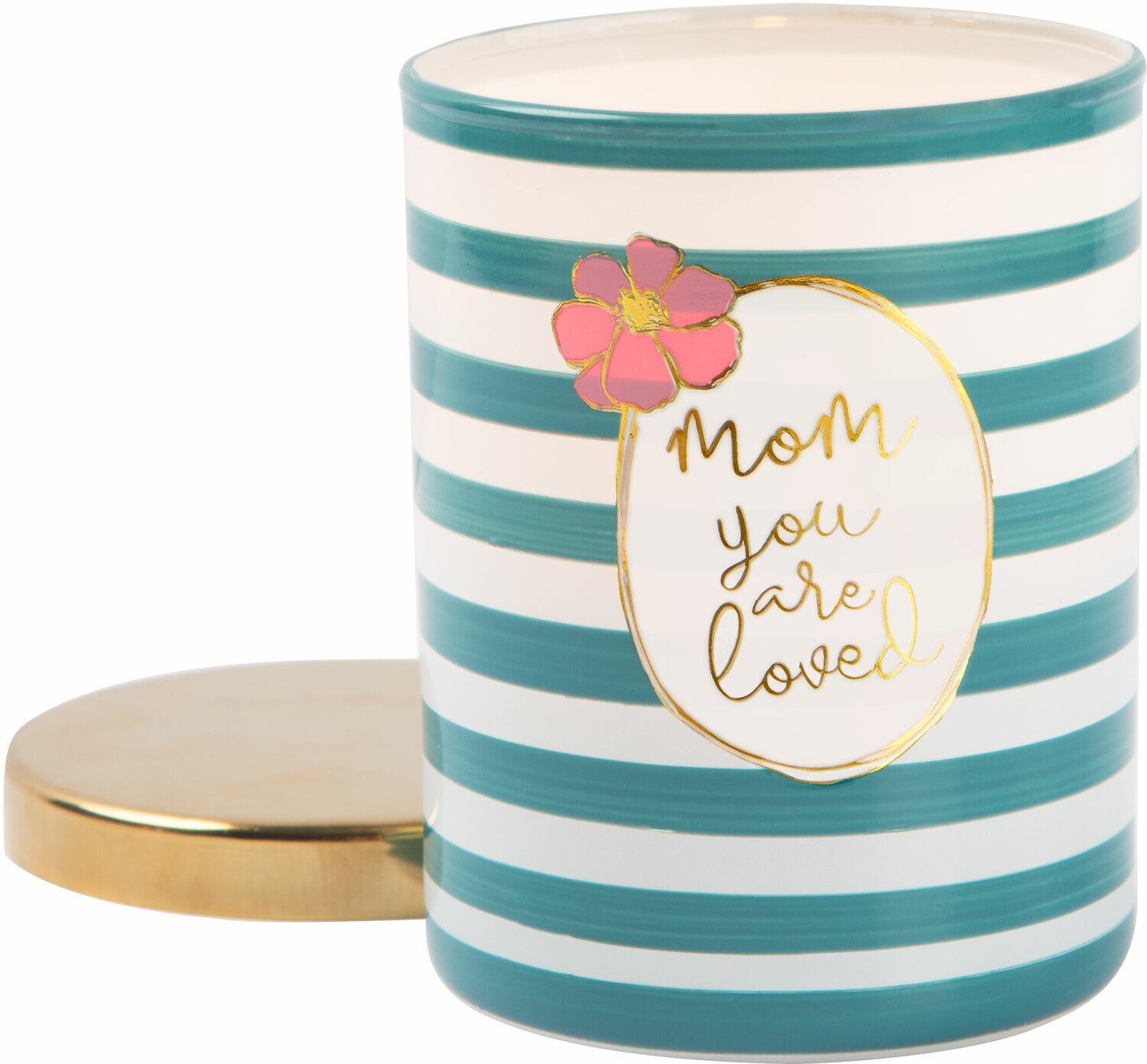 Mom by Heartful Love - Mom - 7oz 100% Soy Wax Candle Scent: Fresh Cotton
