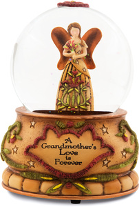 Grandmother by Country Soul - 100MM Water Globe