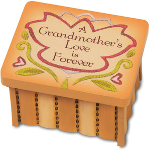 "Grandma by Country Soul - 2.5""x2""x1.5"" Keepsake Box"