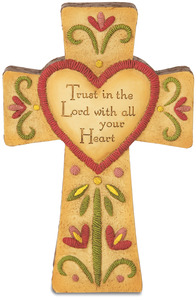 "Trust in the Lord by Country Soul - 6"" Self-Standing Cross"