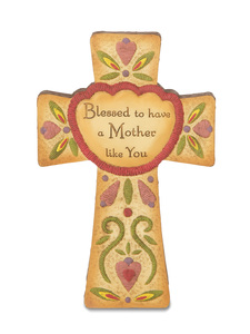 "Mother by Country Soul - 6"" Self-Standing Cross"