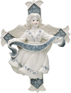 "Ruth by Sarah's Angels - 6""  Angel Peace Cross"